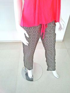 Silk Pants Women Pants Silk Harem Pants Boyfriend by myscarlet,