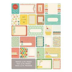 Project Life Themed Cards 60 Pack - Celebrate   Hobbycraft #projectlife #scrapbooking #makingmemories #hobbycraft #papercraft