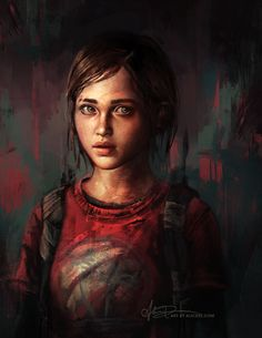 Alice X. Zhang — Portrait studies from The Last of Us, done over at...
