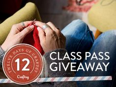 12 Days of Craftsy Class Pass Giveaway