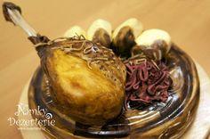 Pečené stehýnko s knedlíkem