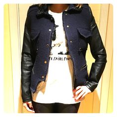 Zara jacket Normal wear and tear - still in good condition. No stains Zara Jackets & Coats