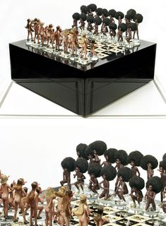 Wow - unusual chess designs here too