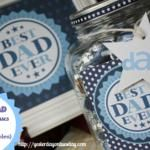 Father's Day Kisses  Candy Gift Jar