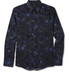 PS by Paul Smith Slim-Fit Printed Cotton Shirt | MR PORTER
