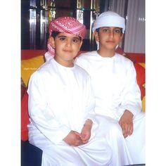 Mohammed bin Rashed bin Khalifa Al Maktoum y su primo Rashid bin Hamdan bin Rashid Al Maktoum. Vía: latifaalmaktoum