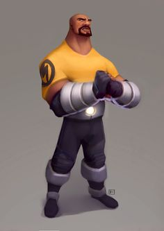 ArtStation - pahpahpahpahpahpapower man!, Corey Smith