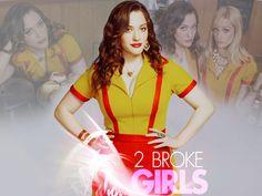 2 broke girls wallpaper