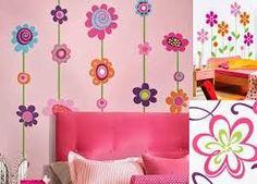 Resultado de imagen para decoracion de paredes para dormitorio de niña