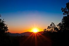 Sunset / Roaring Fork Motor Trail, Cades Cove