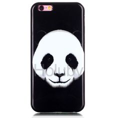 IMD Craft Soft TPU Back Case for iPhone 6 Plus/ 6S Plus - Panda Pattern