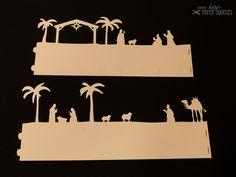 Windlichter - Bastelbogen Windlicht »Christi Geburt« - ein Designerstück von misskittys bei DaWanda