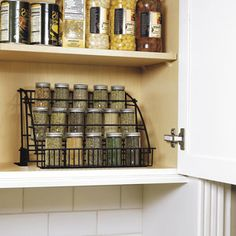 Rubbermaid Pull-Down Spice Rack
