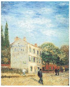 Restaurant Rispal at Asnieres, 1887 Vincent Van Gogh (1853-1890)