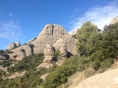La Miranda de les Bohïgues des del refugi d'Agulles a #Montserrat