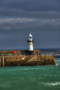 St Ives Lighthouse, St. Ives, Cornwall, England