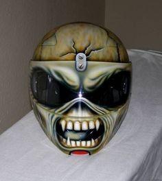 iron maiden airbrush helmet - Google-søgning