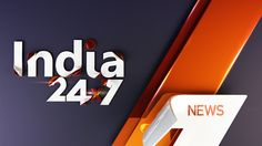 India 24x7 Channel Rebrand on Behance