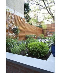 Inspirational images and photos of Outdoor & Gardens : Remodelista Backyard Retreat, Backyard Landscaping, Back Gardens, Outdoor Gardens, Outdoor Wall Panels, Brooklyn Backyard, Modern Garden Design, Garden Gates, Hill Garden
