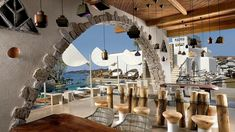 At Kensho you're never far away from an eye-catching view of boats bobbing on the Med