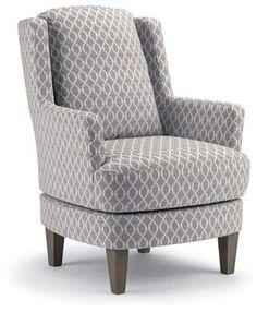 Best Home Furnishings Crew Swivel Wingback Chair Best Home Furnishings