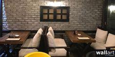 Interior Design For Living Room Brick Veneer Panels, Stone Panels, Natural Stone Cladding, Natural Stone Veneer, Interior Walls, Interior Design Living Room, Brick Face, Wall Design, House Design