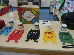 Funégo - Monstres la couleur des émotions Emotions Preschool, Emotions Activities, Book Activities, Preschool Activities, Kindergarten Portfolio, Feelings And Emotions, Monster Party, Kids Education, Creative Art