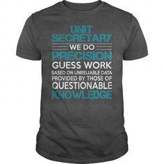 Awesome Tee For Unit Secretary T Shirts, Hoodie Sweatshirts