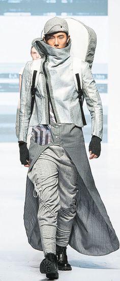 Murfi Ls' - Grey Horror in 2084 (PolyU fashion show 2014, Hong Kong)