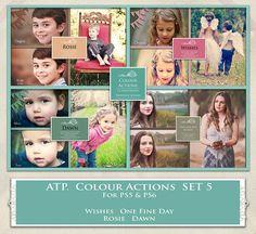 ATP. Color Actions SET 5 by AllThingsPrecious.deviantart.com on @DeviantArt