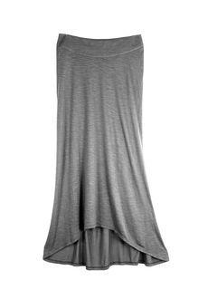 Keo: Upcycled Grey Long Skirt