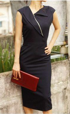 VINCY Rockabilly Pencil Dress Custom Made 50's Style