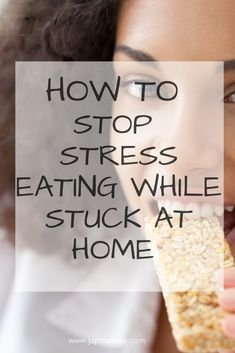 If you are finding yourself constantly snacking while we are stuck at home these tips will help you to stop stress eating and stop eating when you are not hungry. Stress Eating, Stop Eating, Help Losing Weight, Lose Weight, How To Stop Snacking, How To Stop Stress, Health And Fitness Tips, Health Tips, Health Care