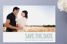 save the date idea