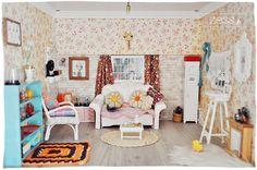Maison de poupées : le salon