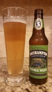 Chris reviews this week's Beer of the Week, Southampton Publick House's Double White
