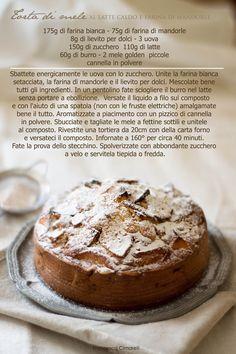 CUCINA GHIOTTA: Le convinzioni della vita e una torta di mele