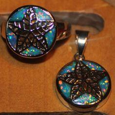 ring-pendant-jewelry-set-rainbow-fire-opal-Gemstone-silver-size-7AAA