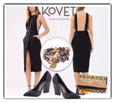 """SHOP - KOVET"" by ladymargaret ❤ liked on Polyvore featuring women's clothing, women, female, woman, misses and juniors"