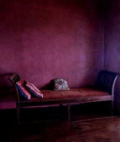 """A saturated red-purple tone with berry qualities,"""" some may be more apt to call it burgundy or aubergine. Contrast it with lots of black and leather for a more sleek look. Decoration Inspiration, Color Inspiration, Interior Inspiration, Shades Of Purple, Red Purple, Burgundy, Purple Rain, Pink, Color Lila"""
