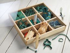 Lots of supplies, all in one box. Available at Collections, Etc.