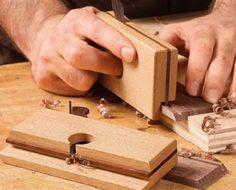Ah! E se falando em madeira...: fazendo miniplaina