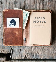 Loyal Leather Travel Wallet by Loyal Stricklin on Scoutmob Shoppe