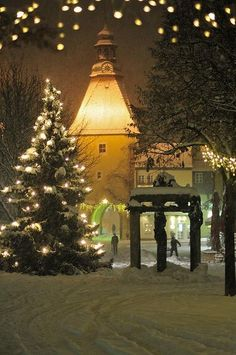 Christmas in Weiden in der Oberpfalz, Germany.  Go to www.YourTravelVideos.com or just click on photo for home videos and much more on sites like this.