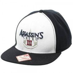 Assassins Creed Logo Black/White Snapback