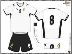 Ghana - home jersey (2008)