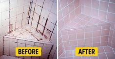 3 Ingredient Grout And Tiles Cleaner! Make Your Grout Look Like New! And Tips On How To Keep It Spotless! Cleaning the bathroom is always seems to be a tedio. Homemade Cleaning Products, Cleaning Recipes, Natural Cleaning Products, Cleaning Hacks, Household Products, Household Chores, Cleaners Homemade, Diy Cleaners, Homemade Tile Cleaner