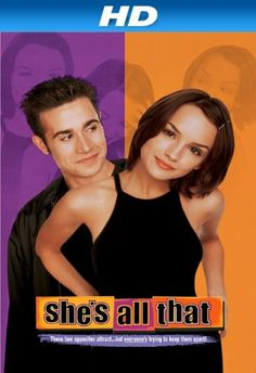 Rent She's All That starring Freddie Prinze Jr. and Rachael Leigh Cook on DVD and Blu-ray. Get unlimited DVD Movies & TV Shows delivered to your door with no late fees, ever. One month free trial! Teen Movies, Iconic Movies, Comedy Movies, Good Movies, Romance Movies, Watch Movies, Throwback Movies, Teenage Movie, Amazing Movies
