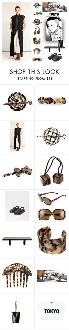 """""""Pack and Go Tokyo"""" by yours-styling-best-friend ❤ liked on Polyvore featuring France Luxe, L. Erickson, Schai, Birkenstock, Jonathan Adler and TemaHome"""