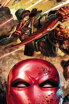 RED HOOD/ARSENAL #12/Search//Home/ Comic Art Community GALLERY OF COMIC ART
